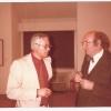 342.) Direktor Otto Staininger mit Präsident Hans Mayr 1979